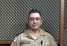 Major Ademir Fagundes.